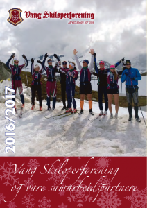 Vang Skiløperforening 2016/2017