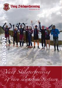 Vang Skiløperforening 2016/2017